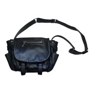 Walter by Walter Baker black leather bag